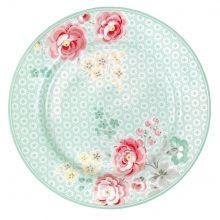 GreenGate plate Lulu mint