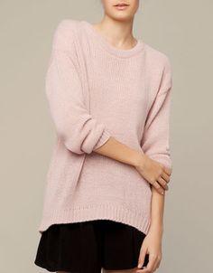 Pullover mit ungleichmäßigem Saum - Cardigans & Pullover - Deutschland