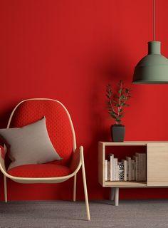 Stylish! | Red wall art | Red home decor | Red art | Art in red | Modern | beautiful | #metalwallart #redwallart https://www.statements2000.com/