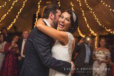 Bride and Groom dancing - Crazy Bear Wedding
