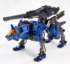 Zoids Command Wolf Custom Model