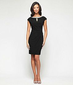 Alex Evenings Keyhole Scoopback Dress #Dillards