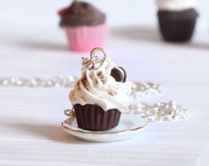 Kawaii miniature food jewelry made of polymer clay by Zoozim