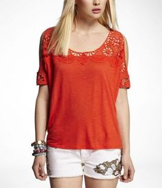 NEED this. love the cutout shoulders #express