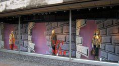 Vive la Mode - de Bijenkorf department stores - windows Rotterdam
