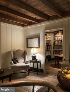 French Interior, Interior Design, Moore House, Transitional Living Rooms, Wood Interiors, Small House Plans, Log Homes, My Dream Home, Building A House