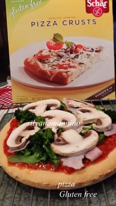 Gluten Free Pizza Crust by Schar. I love the Udis, will have to try these!