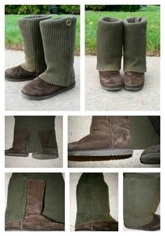 Sweater Boots | 17 DIY Accessories To Keep You Cozy This Winter