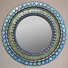Beaded mirror More