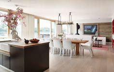 News and Trends from Best Interior Designers Arround the World Contemporary Bathrooms, Contemporary Furniture, Kitchen Colors, Kitchen Decor, Kitchen Ideas, Minimal Kitchen, Scandinavian Kitchen, Painting Kitchen Cabinets, Luxury Home Decor