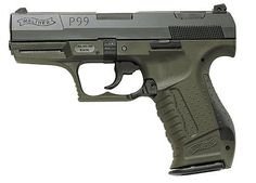 Walther P99 Military 9mm Blue Quick-Action 10 round - $656.00