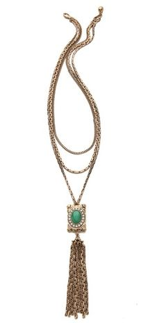 (Limited Supply) Click Image Above: Lulu Frost Immortality Tassel Necklace