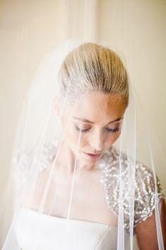 Elegant Drop Wedding Veil #wedding #veil #elegant IDEA BUT CAN NOT SEE MY FACE