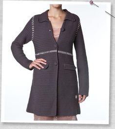 Odd molly coat - dark grey