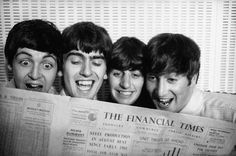 The Beatles :) they read the news today... Oh boy...