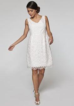 Apart - Cocktailkleid / festliches Kleid - creme