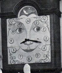 Grandfather Clock from Capt. Kangaroo.