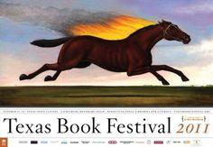 Texas Book Festival poster 2011