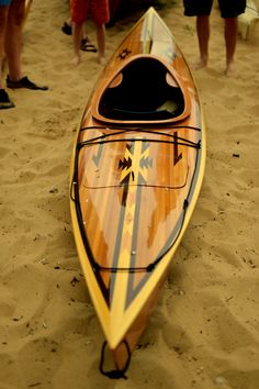 Beautiful kayak. - SA. Chesapeake Light Craft OkoumeFest Small Wooden Boat Rendezvous