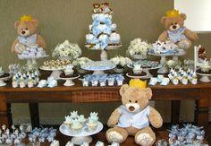 Chá de bebê de ursos: mais de 35 ideias incríveis!