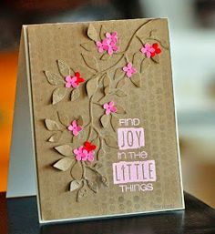 SWEET CARD CLUB: Usando papel Kraft!!!!