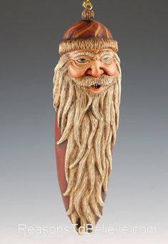 Old World Santa Ornament | Santa Claus Figurines and Hand Carved ...