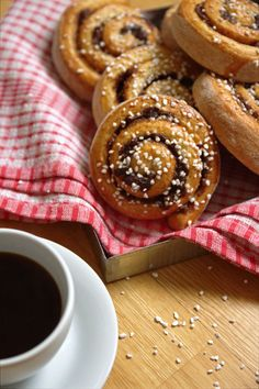 Kanelbullar (Cinnamon buns) are sold at every cafe in Sweden.  When you step into a Swedish café you can always detect the delicious sweet aroma of freshly baked kanelbullar. Fresh out of the oven they are absolutely irresistible.