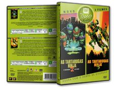 As Tartarugas Ninja 2 - O Segredo De Ooze  As Tartarugas Ninja 3 [Duo Kids]