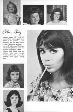 Colleen Corby Eileen Ford's Book of Model Beauty Personal Beauty Routine, Beauty Routines, 1960s Fashion, Vintage Fashion, Ladies Fashion, Colleen Corby, Winter Beauty Tips, Seventeen Magazine, Teen Models