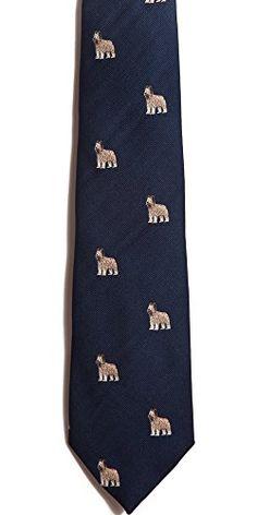 Briard Silk Necktie