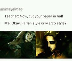 Maybe.........Farlan style? Marco style is already....mainstream...
