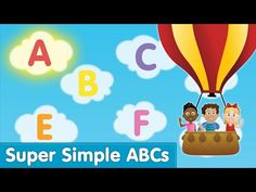 The Super Simple Alphabet Song (Uppercase)   Super Simple ABCs - YouTube