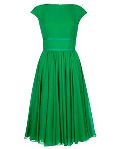 Pleated skirt dress - SIMONIE - Ted Baker