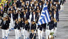 Grécia Abertura olimpíadas Rio 2016 (Foto: Agência AP)