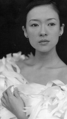Ziyi Zhang.  One of China's most recognizable actresses, and absolutely beautiful.
