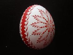 Found some georgeous eggs using the drop-and-pull pinhead method from EggstrArt on Etsy.