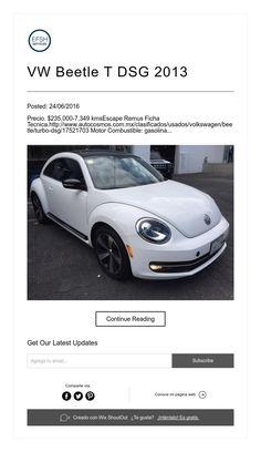 VW Beetle T DSG 2013 Volkswagen Beetle, Vehicles, Car, Motors, Tourism, Places, Automobile, Autos, Cars
