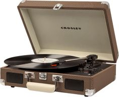 #ad #CommissionLink Crosley Cruiser Deluxe Bluetooth Record Player $89