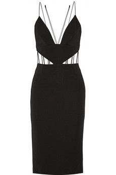 Cushnie et Ochs Cutout stretch-ponte dress | NET-A-PORTER