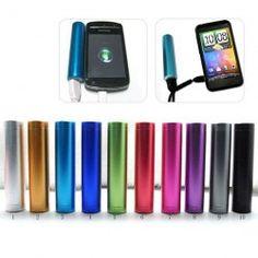 2200mAh Power Bank External Battery Charger.....(Purple)