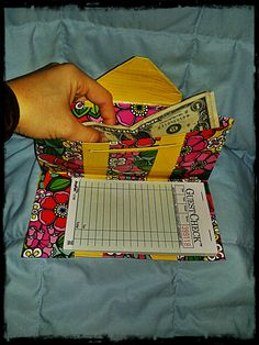 http://savvyserver.storenvy.com Multi Colored Flowers And Yellow Duct Tape Server Book!