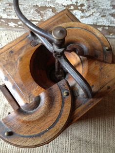Antique French Coffee Grinder Rare Peugot by PatinaPosh on Etsy, $145.95