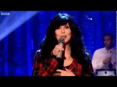 Jennifer Saunders pays homage to Cher love the track Cher sings after :)