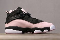 dee335860a9f52 Buy Air Jordan 6 GS Rings Black Pink Foam White 323399-006-1