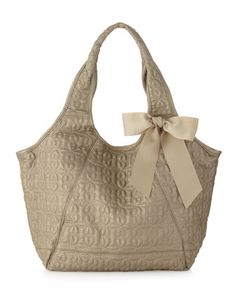 Love Drops Quilted Shopper Bag, Lux by Deux Lux at Last Call by Neiman Marcus.