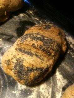 Pan integral con semillas de amapola