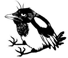magpie by Huukka.deviantart.com on @deviantART