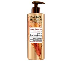 Hair Expertise Seidige Nährpflege 6-in-1 Shampoo-Crème. Milde Reinigung für trockenes, empfindliches Haar mit einer hohen Konzentration an pflegenden Inhaltsstoffen & botanischen Ölen und reinigt es sanft von Verschmutzungen ohne reizenden Schaum, ohne entkräftende Sulfate, ohne Silikone.  #lorealparisde #hairexpertise #haircare #siliconfree