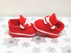 Crochet Sneaker Shoe Pattern Baby Nike Style Pattern Bootie