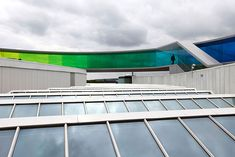 Your Rainbow Panorama: A Giant 360° Colorful Rooftop Walkway in Denmark | Bored Panda